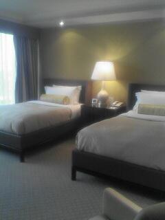 金色的港麗酒店房間