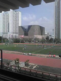 暑いっす。まったりサッカーっす。