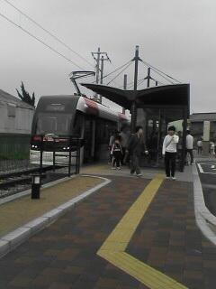 富山ポートラム岩瀬浜駅