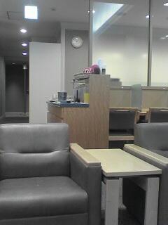 我在羽田機場國際綫候機室