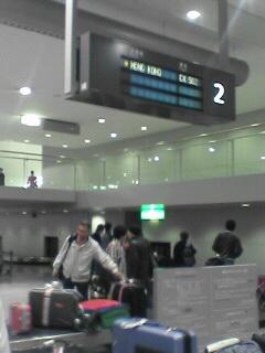 我回到關西國際機場