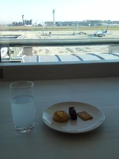 東京國際機場日航候機室